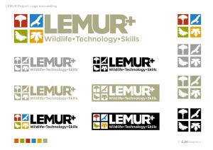 LEMUR+ logo variants