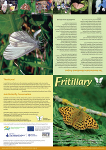 'Fritillary' newsletter (outside)