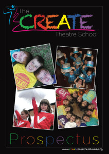 CREATE Theatre School prospectus