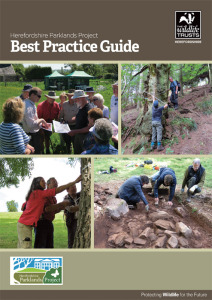 Herefordshire Parklands Project Best Practice Guide