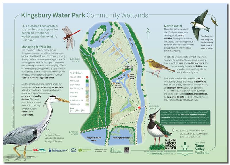 Kingsbury Water Park Community Wetlands panel 1